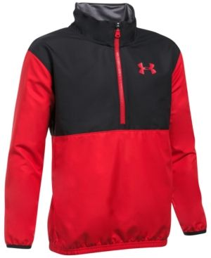 Under Armour Ua Storm Tech Train To Game Jacket, Big Boys (8-20) - Red L