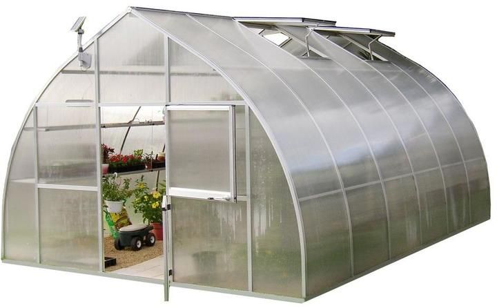 Exaco Riga 14 ft. 2 in. x 19 ft. 10 in. Extra Large Greenhouse Kit
