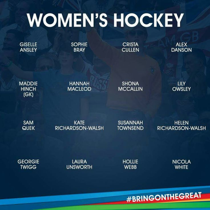Women's Hockey - Team GB - Rio 2016
