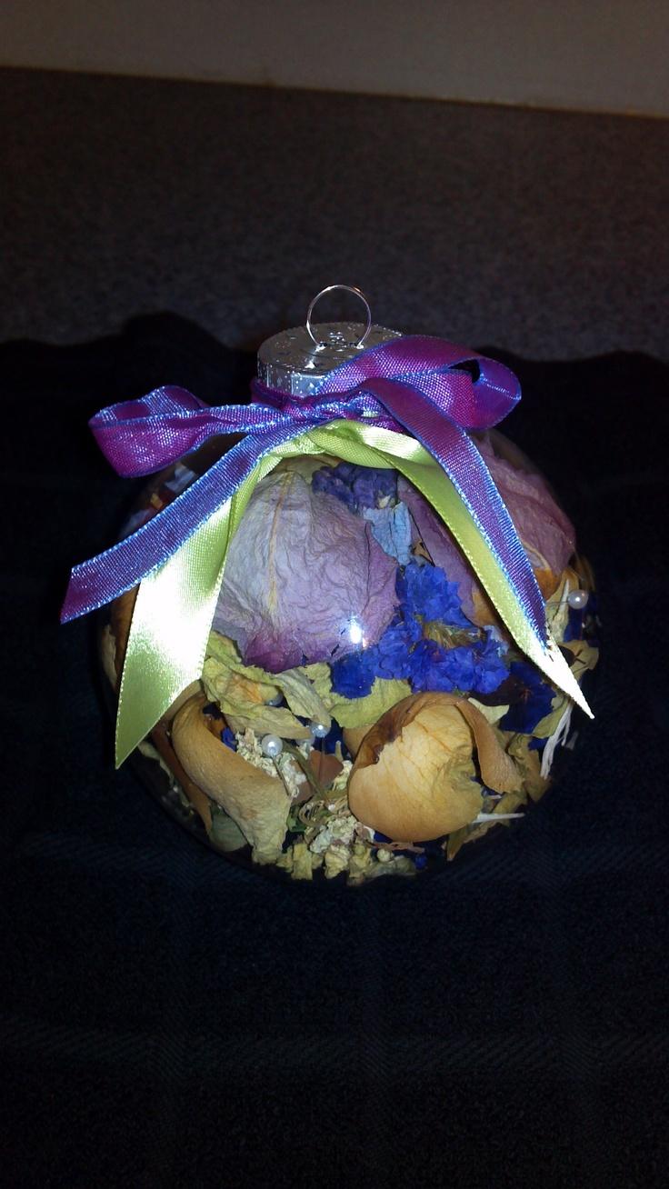 Wedding Bouquet Christmas ornament