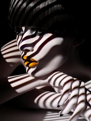 fabulous photographer - Solve Sundsbo: Solving Sundsbo, Edita Vilkeviciute, Color, Sølve Sundsbø, Lips, Black White, Fashion Photography, Stripes, Shadows