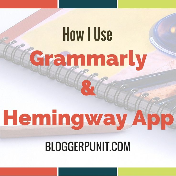 How I use gammarly and Hemingway App to check my grammar online  #grammarly #grammarchecker #hemingwayapp