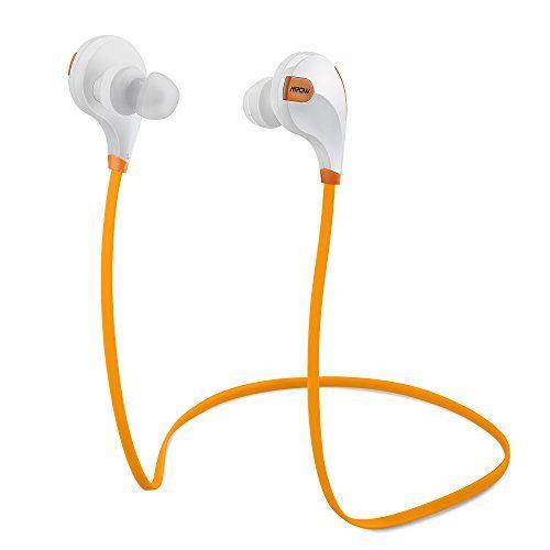 Sale Preis: Mpow Swift Bluetooth 4.0 Wireless Schweißfänger Sport Stereo In-Ear-Kopfhörer mit AptX Technologie und Mikrofon der Freisprechfunktion für iPhone 6 6S 6 Plus 6S Plus 5S 5 5C 4S 4, Samsung Galaxy S6 S6 Edge S5 S4 Mini, HTC M9 M8, Sony Z5 Z4 Z3 Compact, MP3 Players usw. (Orange). Gutscheine & Coole Geschenke für Frauen, Männer & Freunde. Kaufen auf http://coolegeschenkideen.de/mpow-swift-bluetooth-4-0-wireless-schweissfaenger-sport-stereo-in-ear-kopfhoerer-mit
