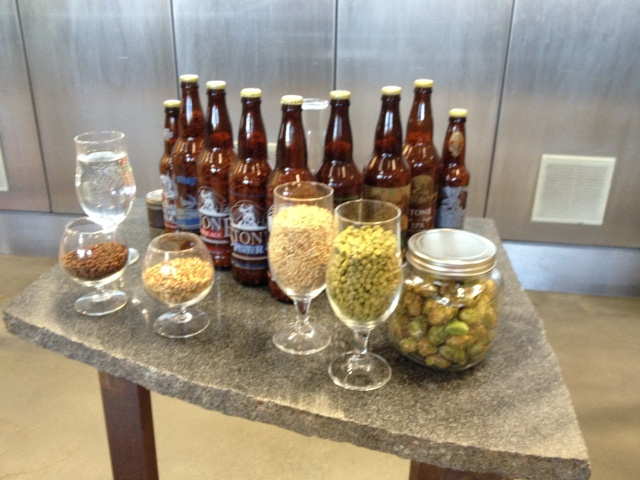 Private brewery tour at Stone Brewery in Escondido, California.