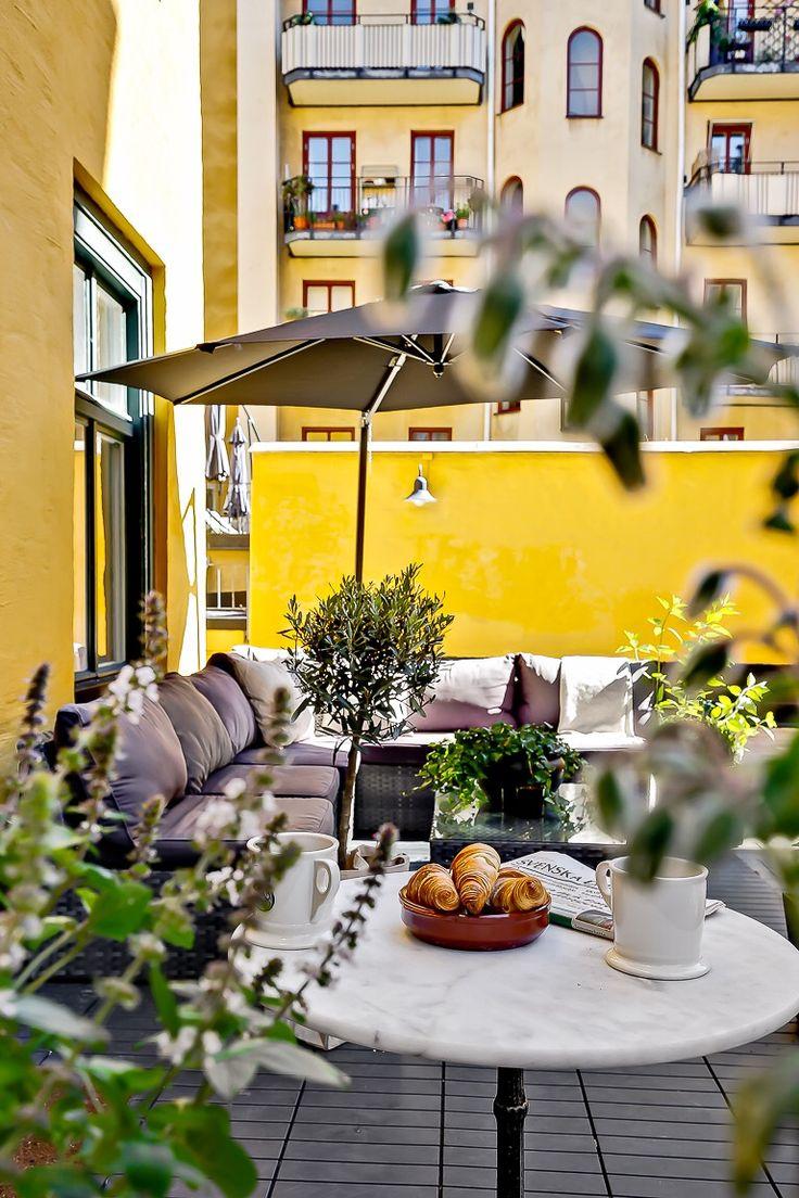 Terrace  Min favoritplats. Många lyckliga stunder här...