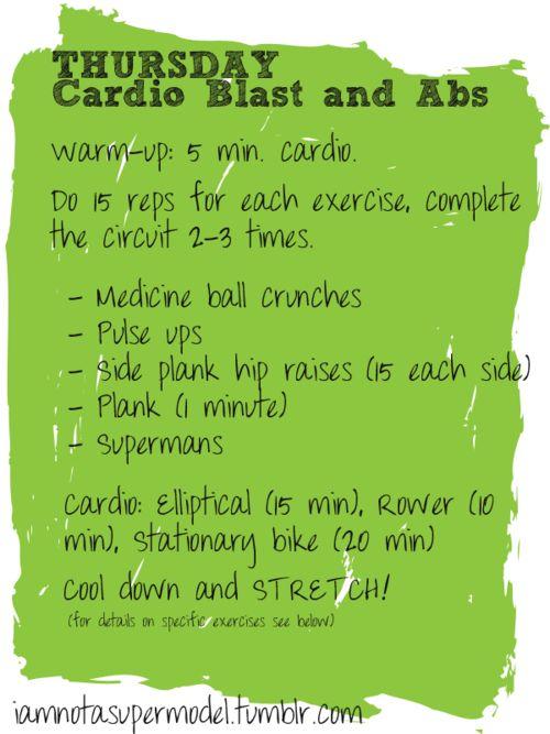 thurs workout