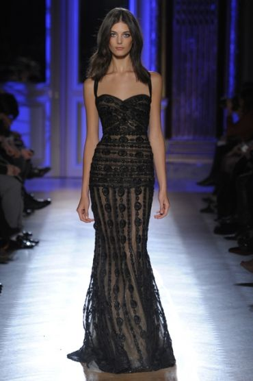 Apparently I'm supposed to find a knock off of this Zuhair Murad dress to wear to my sister's wedding. Love it but impossible sis