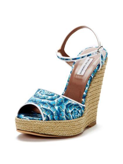 Tabitha Simmons Wonder Wedge Espadrille Sandal € 627,12