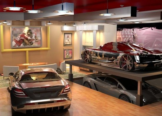 Luxury garage interior dreamgarage automobiles my for Luxury garage interiors