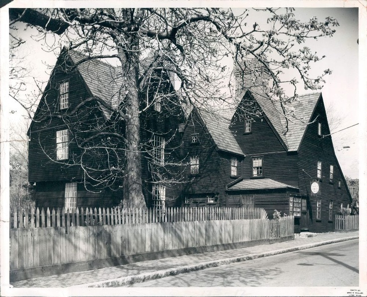 Salem Massachusetts House of Seven Gables -  Authentic Witch House