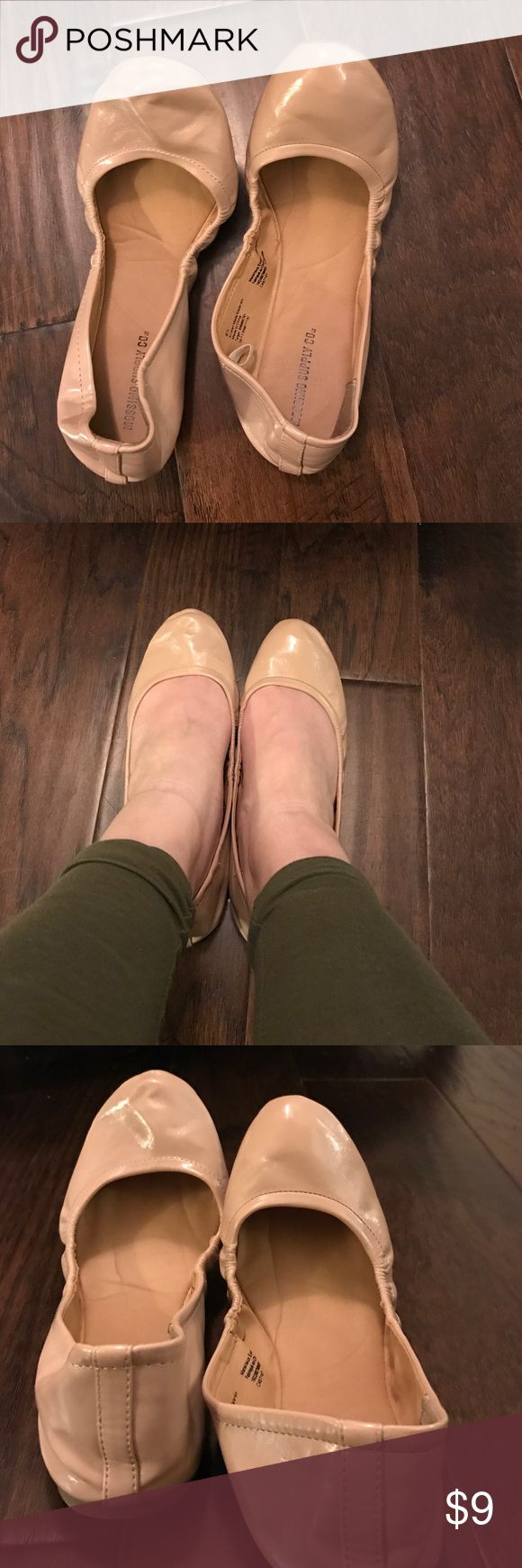 Price Drop! Mossimo Cream Ballet Flats Women's Mossimo cream flats. In great condition. No scuffs or marks. Mossimo Supply Co. Shoes Flats & Loafers