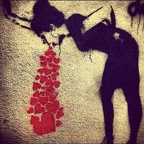Lovesick #Banksy, #grafitti #art