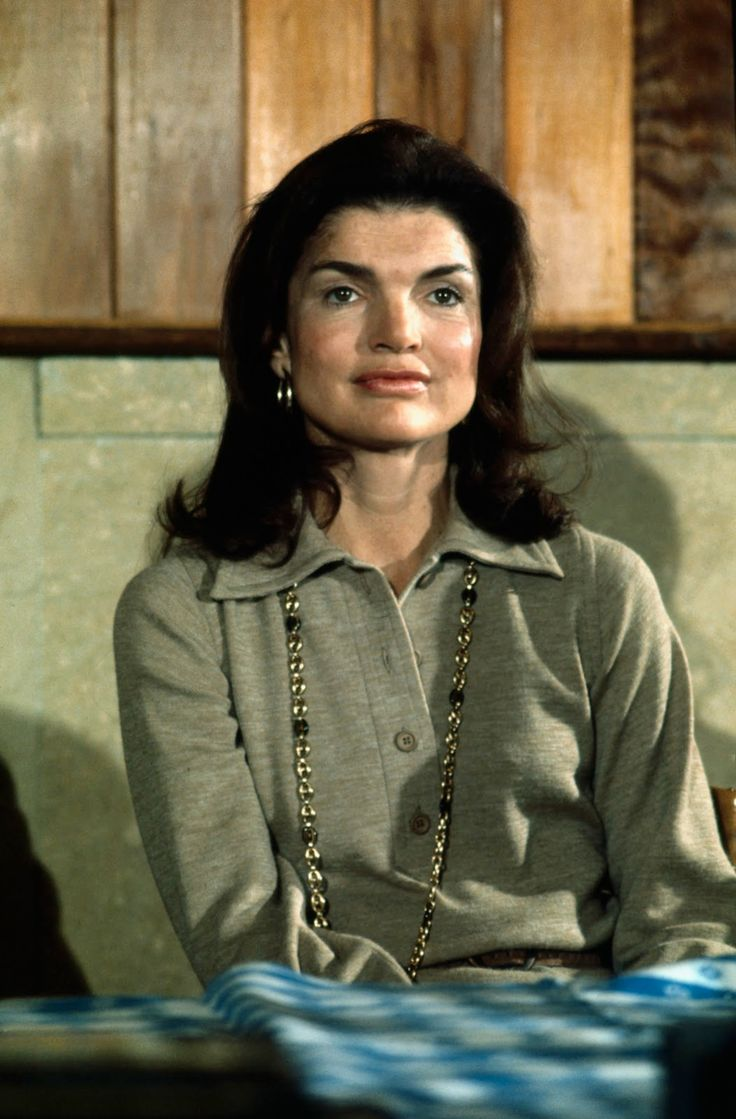 """my-love-for-jackie: """" Jacqueline Kennedy Onassis at a Grand Central press conference in 1975. """""""