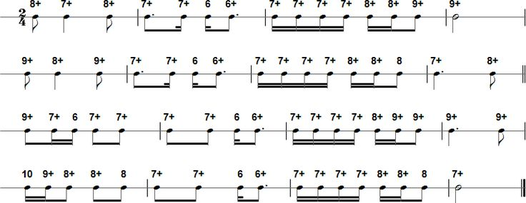 Swing Low, Sweet Chariot Harmonica Tab