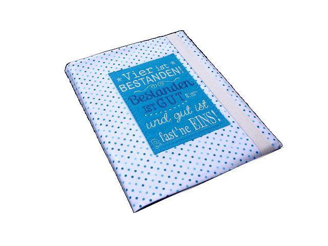 Kladden & Sammelmappen - Zeugnismappe / Sammelmappe - ein Designerstück von meineZauberwelt bei DaWanda