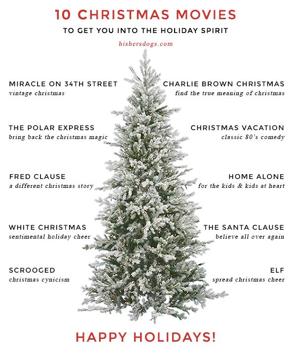 Christmas Movie List | His & Hers and the Dogs'