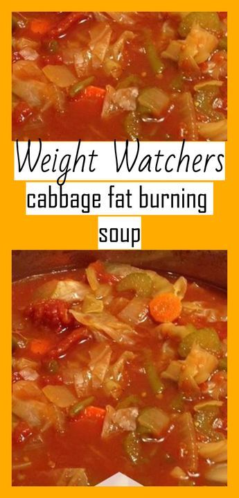 cabbage fat burning soup – Diet meals