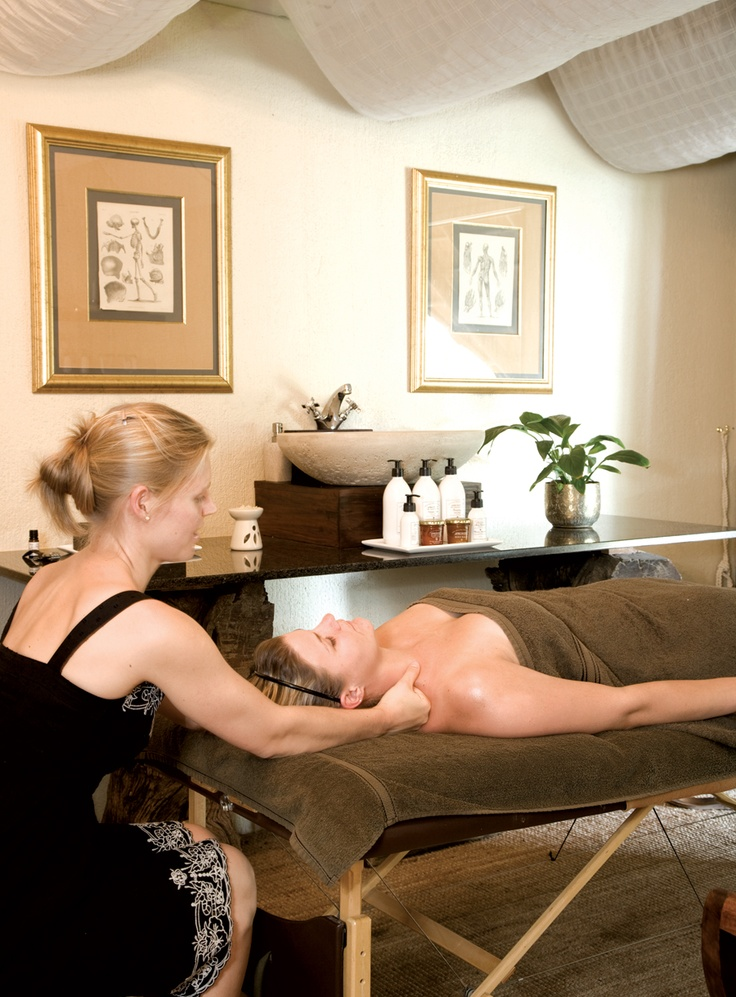 Experience the therapy room at Londolozi