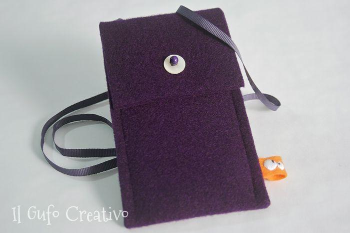 Il Gufo Creativo felt case for IPhone