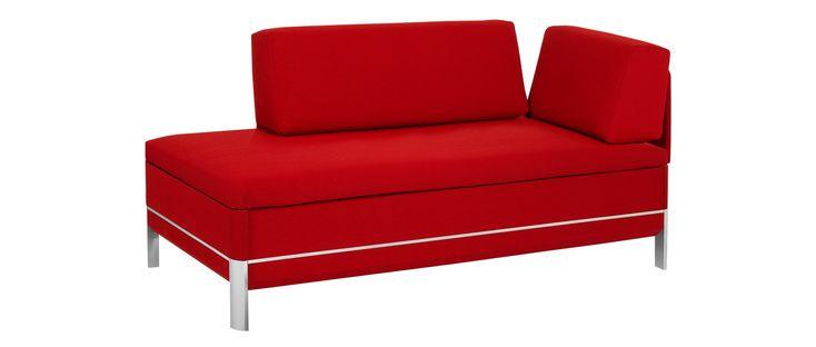 CENTO 60 des Schweizer Herstellers Swiss Plus ist ein hochwertiges und platzsparendes kleines Schlafsofa. Designer Sofa mit Lattenrost und BICO Matratze.