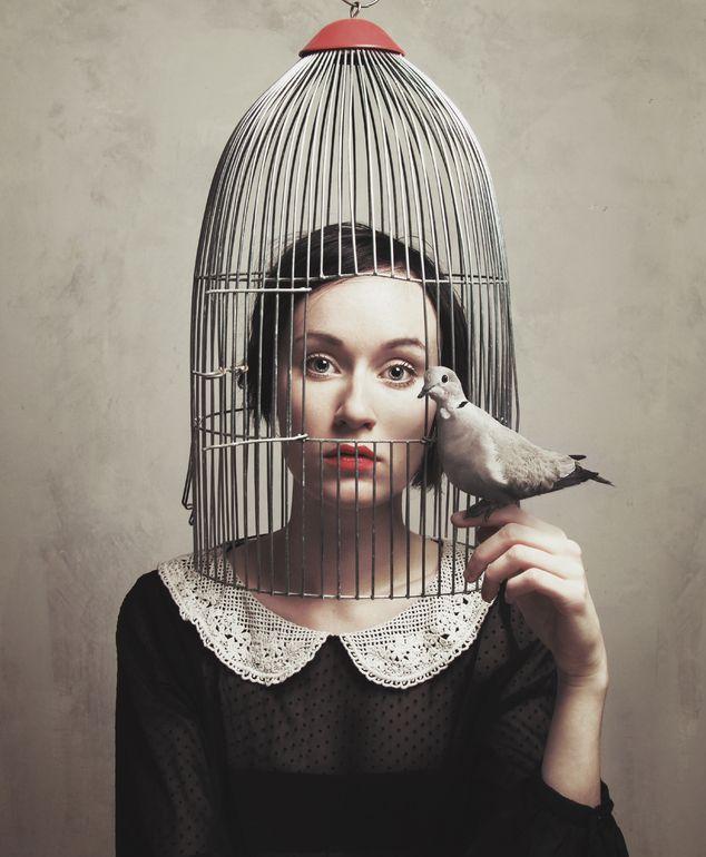 Subjective Freedom I by Flora Borsi. °