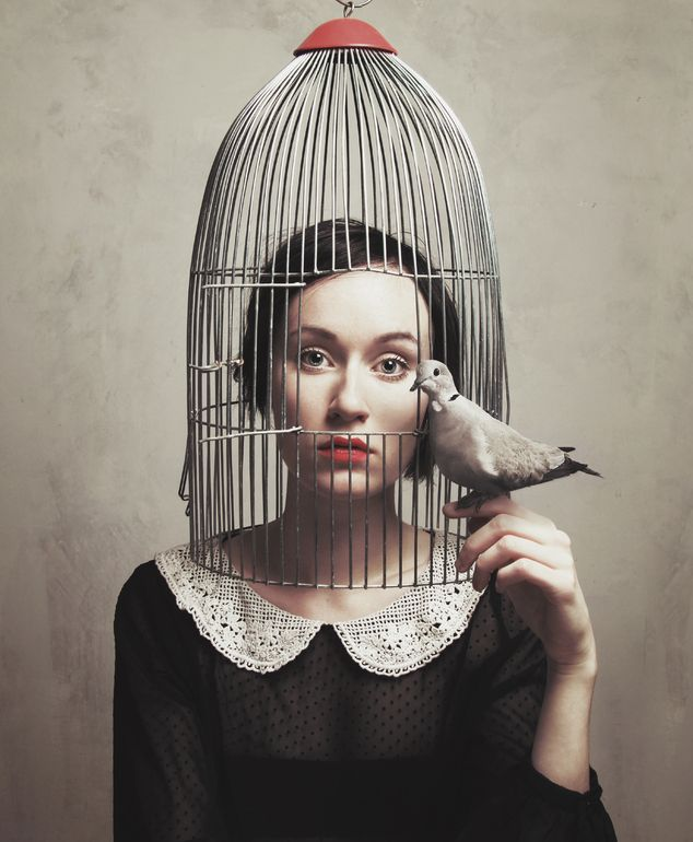 "Saatchi Online Artist: Flora Borsi; Digital 2013 Photography ""Subjective Freedom I"""