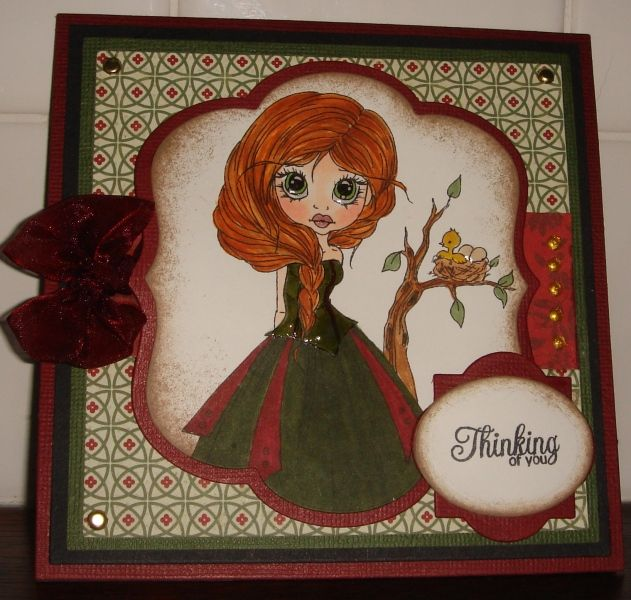Thinking of you by charlie horse - Cards and Paper Crafts at Splitcoaststampers