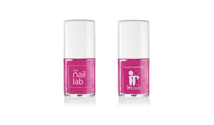 a limited-edition pink nail polish, 'Eva'
