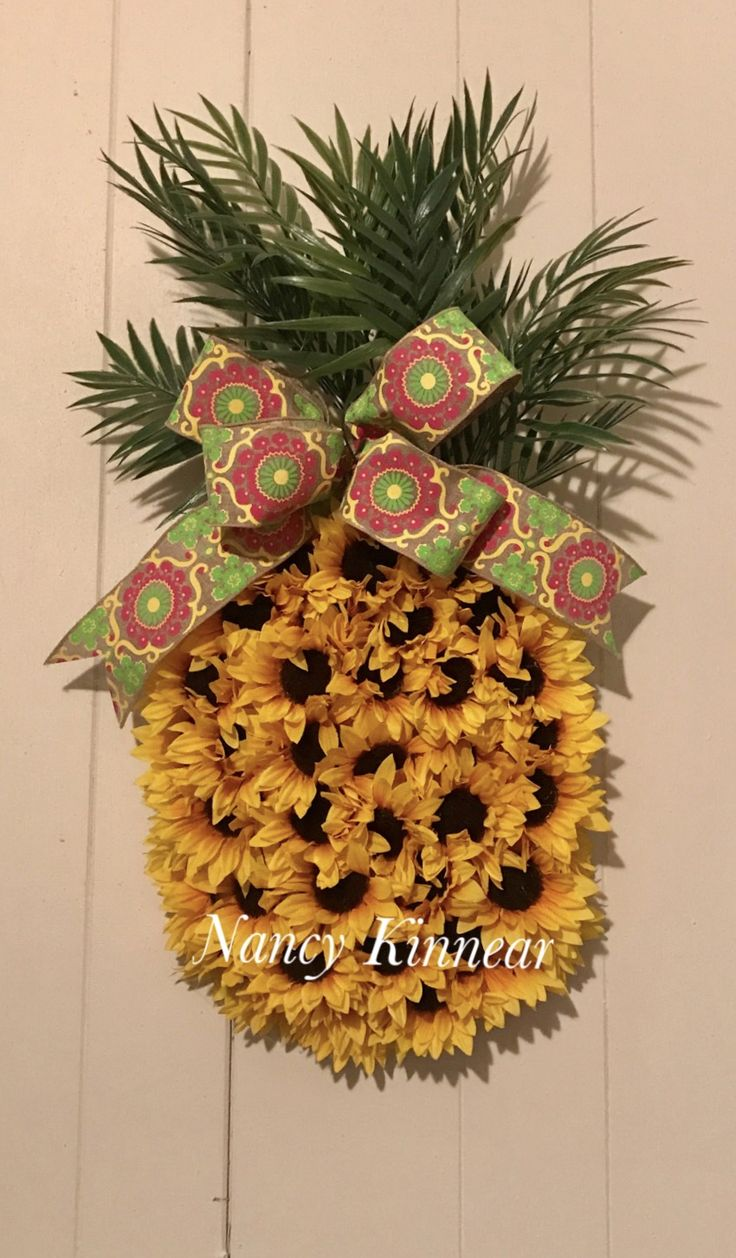 Pineapple Wreath...