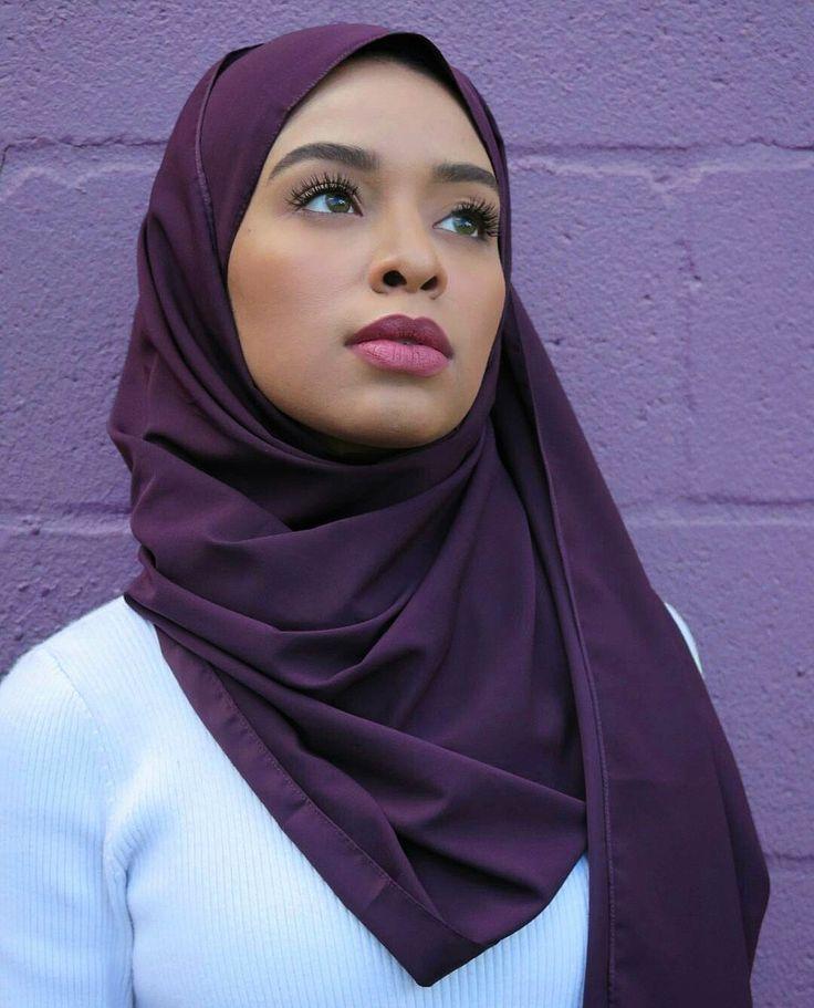 Pin di hijab cantik