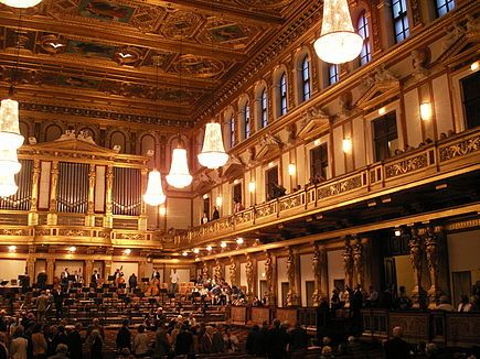 VIENNA : Attend the New Year's Concert. Wiener Philharmoniker. Tickets only available by drawing from applications submitted a few weeks in January, but what a dream for new year's day 2016 and beyond. Seeing it on PBS isn't bad either.