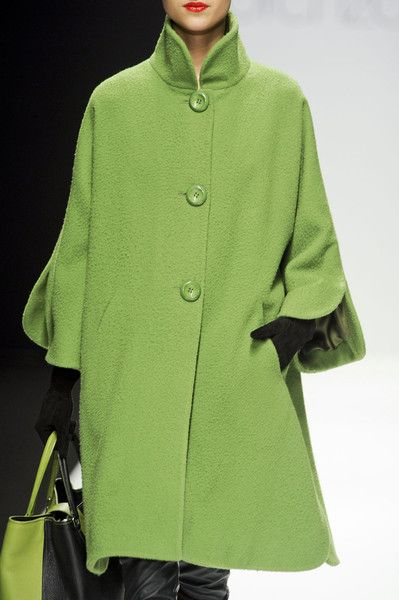 Beautiful green coat!