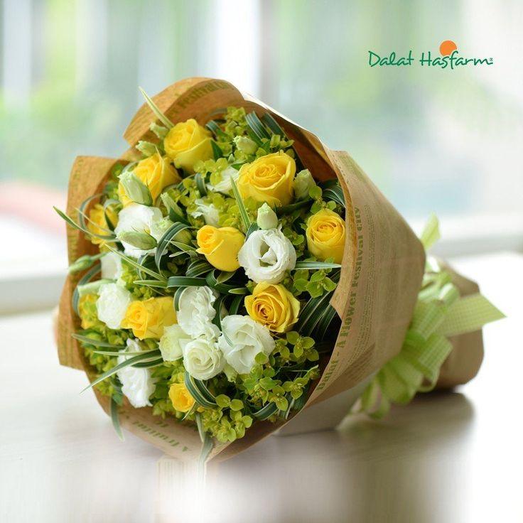 hoa chúc mừng thành công - Hoa tươi Dalat Hasfarm