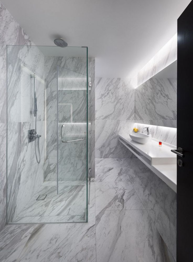 Goodman, Minimalism Landed House, Bathroom Interior Design