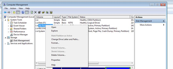 how to frmate an external hard drive partitions