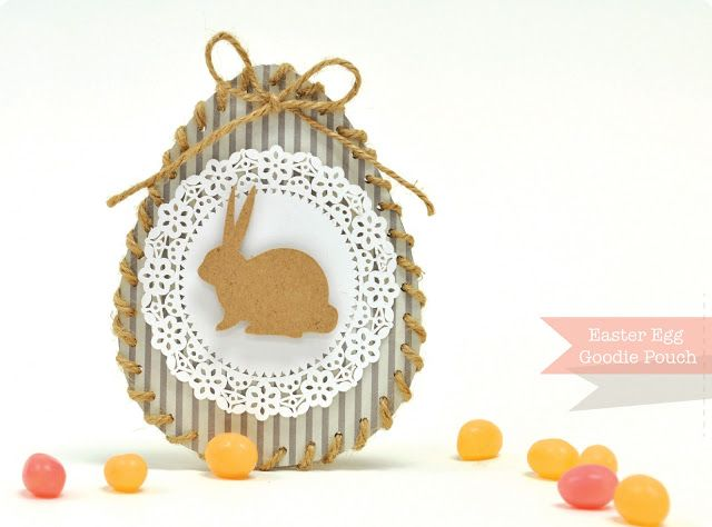Silhouette America Blog | FREE Shape of the week… Easter Egg Goodie Pouch