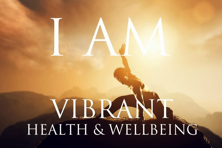 I AM Affirmations for VIBRANT HEALTH & WELLBEING | Solfeggio 852 & 963 Hz