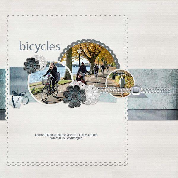 Bicycles #scrapgirls