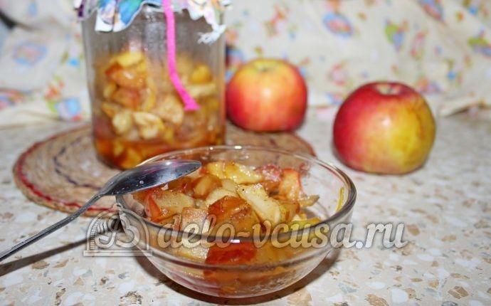 Яблочная начинка на зиму
