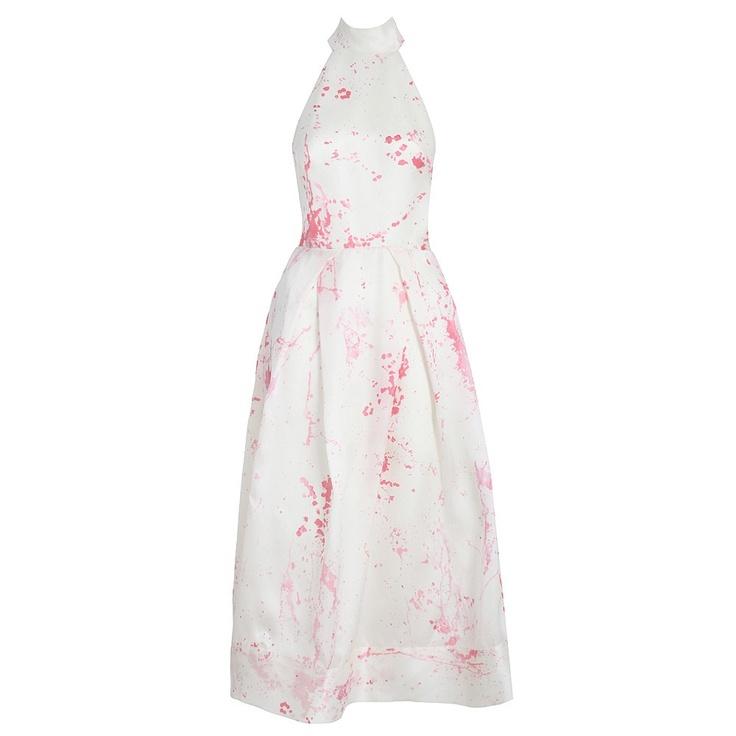 Clique Splatter T Bar Dress