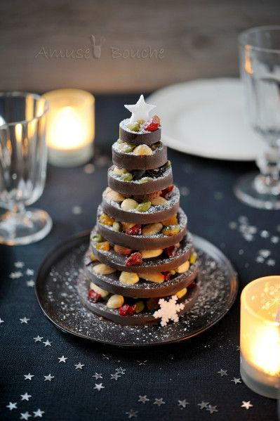 Stack Chocolate Christmas Tree