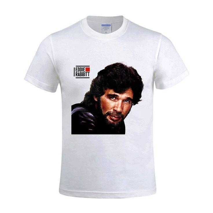 >> Click to Buy << Gildan Fashion T-shirts Eddie Rabbitt The Best Year Of My Life Black Tee Shirts For Men #Affiliate