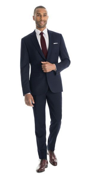 6d10e1563243 What does a navy blue  suit look like customized for you  Find out ...