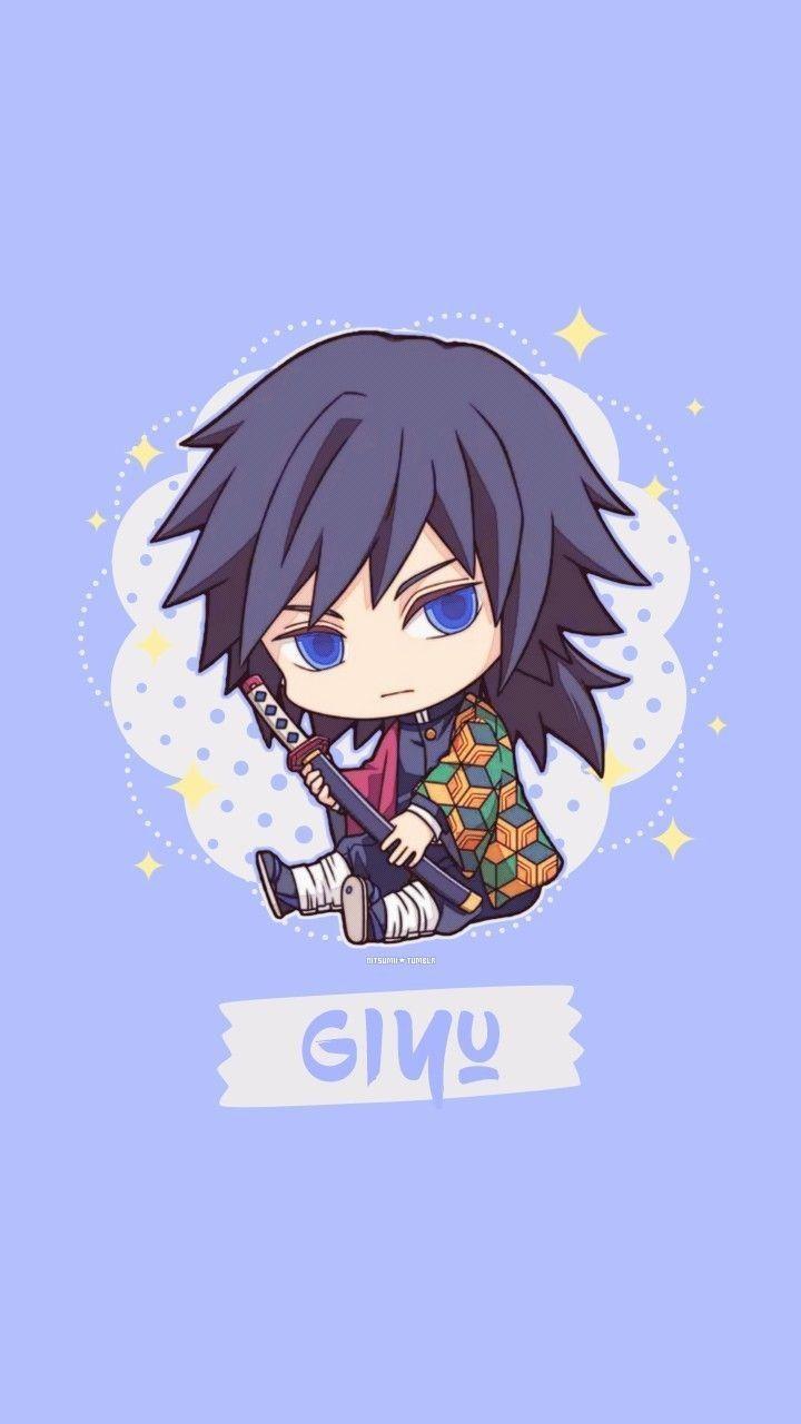 Pin By Mui Cute On Tanjirou Anime Demon Chibi Wallpaper Anime Chibi