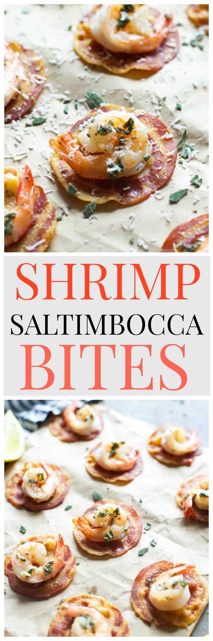 Shrimp Saltimbocca Bites