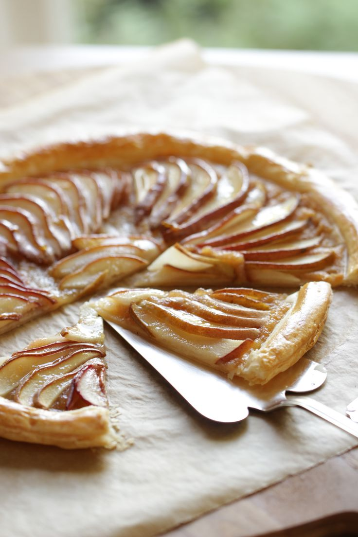 Easy Pear Tart Recipe