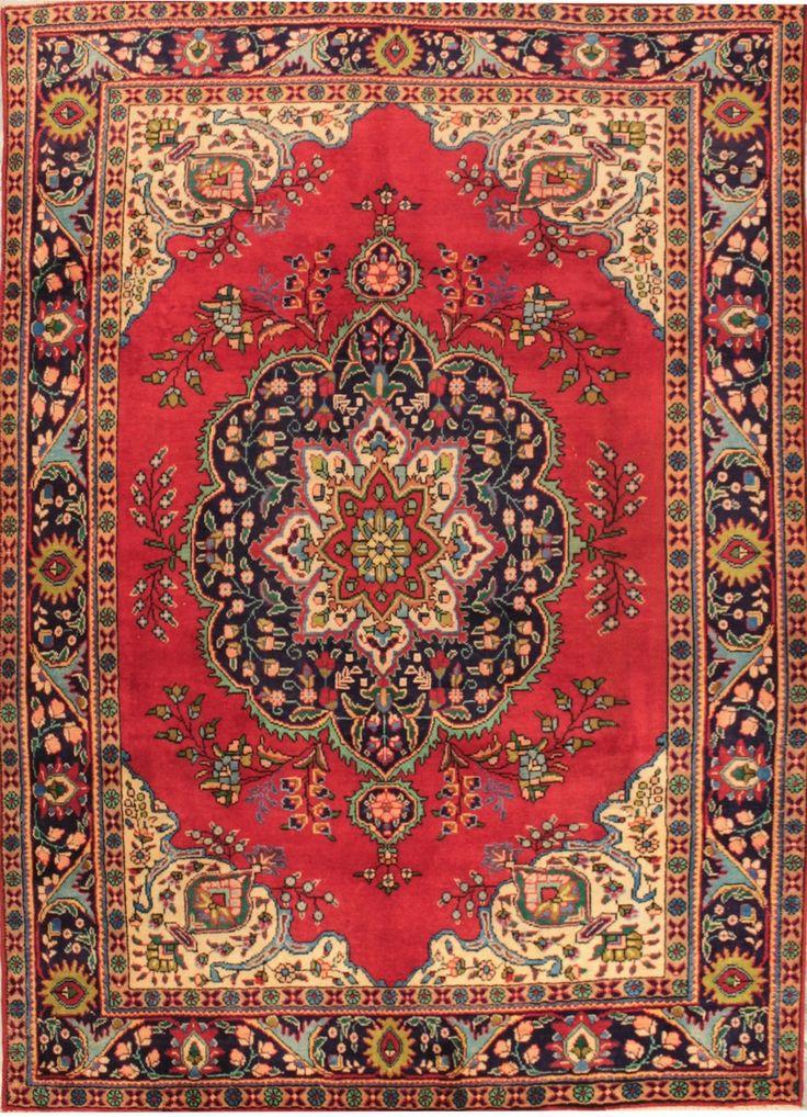 Mollaian Tappeti, Tabriz 30R d'epoca Persia 284x203