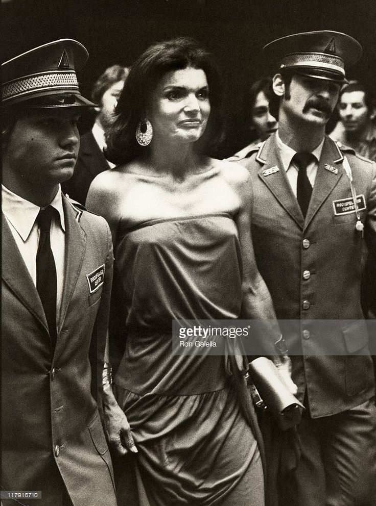 Jackie Kennedy during 6th Annual RFK Tennis Tournament Party at Rainbow Room in New York City, New York, United States.