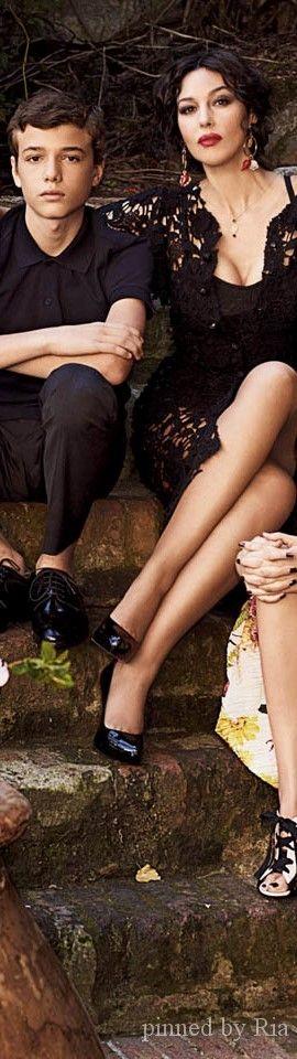 Monica Bellucci for Dolce and Gabbana Ad Campaign 2014 l BELLEZZA NELLA VITA l Ria