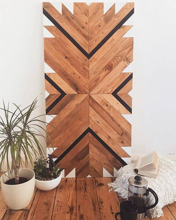Reclaimed Wood Wall Art Large Reclaimed Wood Art Wall